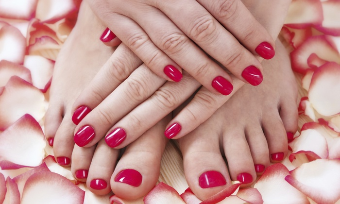 Nails By Cari at Belle Vous Salon - Nails By Cari at Belle Vous Salon: Up to 44% Off Manicures at Nails By Cari at Belle Vous Salon