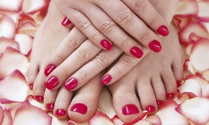 Bijoux Hair & Beauty: Gel Polish on Fingernails or Toenails or Both at Bijoux Hair & Beauty (Up to 53% off)