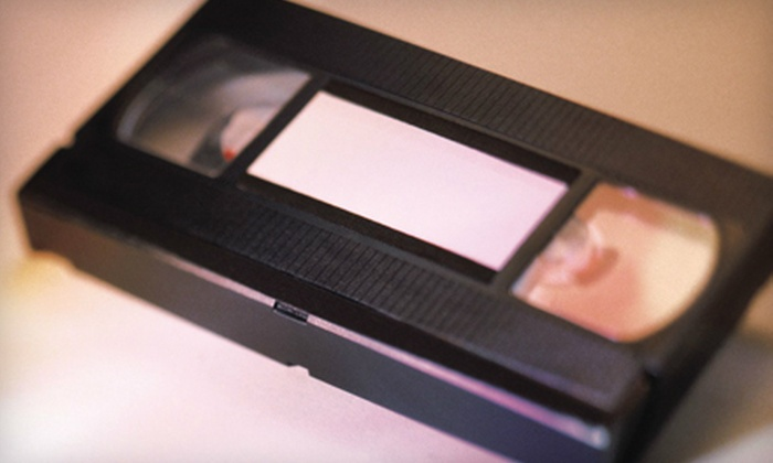 Home Video Studio - Hoosier / Cullen: $9 for 120 Minutes of Videotape-to-DVD Conversion at Home Video Studio (Up to $29.95 Value)