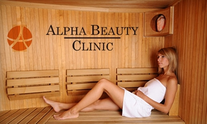 Alpha Beauty Clinic - Windy Hill: $45 for a Firming Seaweed Body Wrap and 30 Minutes of Infrared Sauna Time at Alpha Beauty Clinic ($125 Value)