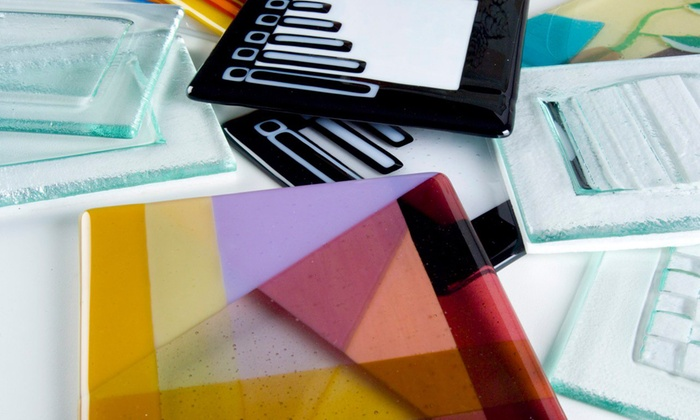 Bullseye Glass Co - Santa Fe: First Glass Fusing Class, Coaster-Making Class, or Carving-Glass Class at Bullseye Glass Co (Up to 52% Off)