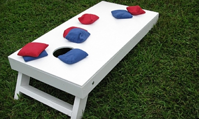 Boardz N Bagz: $15 for a Set of Cornhole Bags from Boardz N Bagz (Up to $34.95 Value)