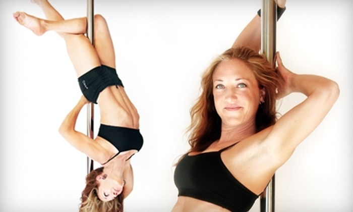 Studio Soiree - Salt Lake City: $65 for Five Pole-Dancing Fitness Classes at Studio Soiree ($149 value)