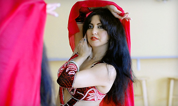 Madrin'ha Dance Company - Multiple Locations: $40 for 10 Belly-Dance Classes at Madrin'ha Dance Company ($80 Value)