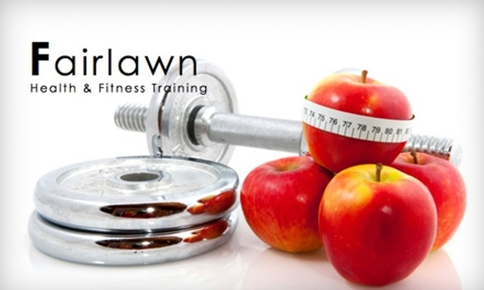 Fairlawn Health & Fitness Training - Fairlawn: $40 for Three Personal-Training Sessions at Fairlawn Health & Fitness Training