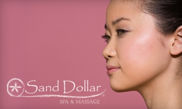 Sand Dollar Spa & Massage - University Place: $55 for a Swedish Massage and Foot Soak, Sugar Scrub, Body Wrap, or Teeth Whitening at Sand Dollar Spa & Massage in University Place (Up to $149 Value)