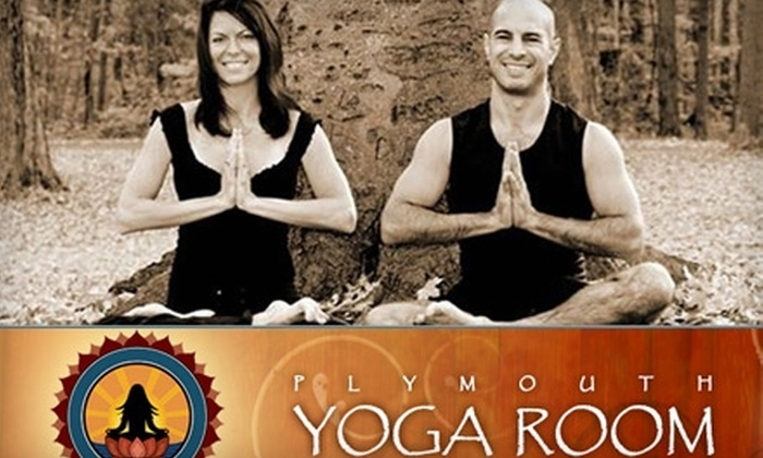 Plymouth Yoga Room - Plymouth: $29 for One Month of Unlimited Yoga at Plymouth Yoga Room ($129 Value)