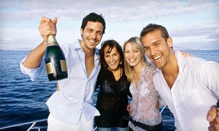 Making Waves Boat Club - Lewisville: $30 for 2.5-Hour Sunset Cruise, Two Drink Tickets, and Appetizers from Making Waves Boat Club on July 14 ($60 Value)