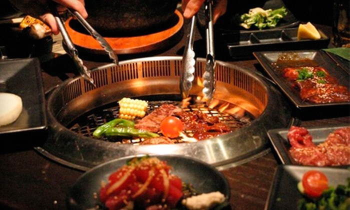 Gyu-Kaku - Multiple Locations: $35 for a Japanese Barbecue Meal for Two at Gyu-Kaku ($72.85 Value)