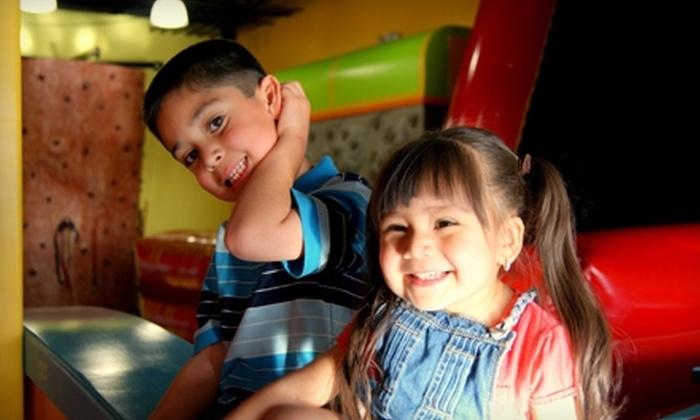 FuntastiCo. Pizza & Games - El Paso: $14 for Two Fun Zone Bracelets, Pizza, Refreshments, and Tokens ($28.99 Value)