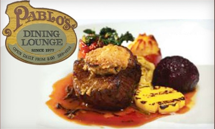 Pablo's Dining Lounge - James Bay: $30 for $60 Worth of Fine French Cuisine at Pablo's Dining Lounge