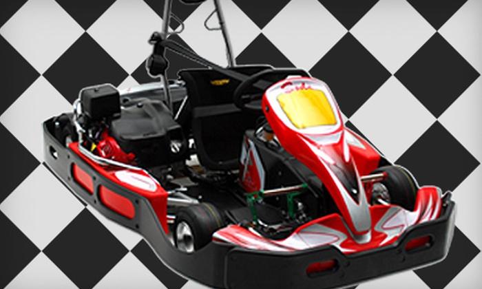 TBC Indoor Kart Racing - East Richmond: Two Go-Kart Races on a Weekday or Weekend at TBC Indoor Kart Racing