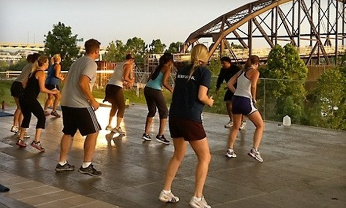 River Market Boot Camp - Downtown: $48 for Five Weeks of Boot-Camp Classes at River Market Boot Camp ($199 Value)