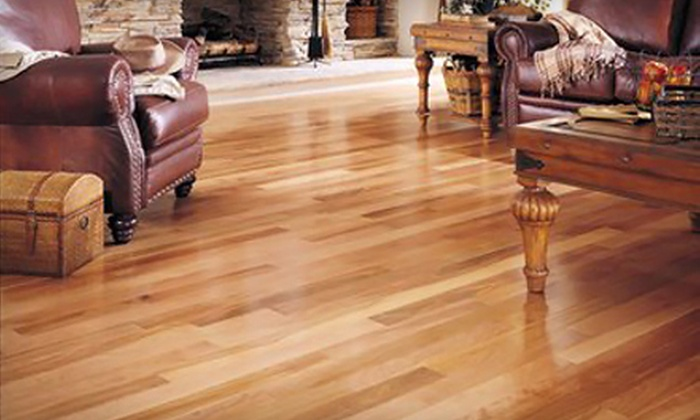 Landmark Flooring - Tinley Park: Flooring and Installation from Landmark Flooring in Tinley Park (Up to 67% Off). Three Options Available.