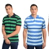 Tweed River Striped Polos