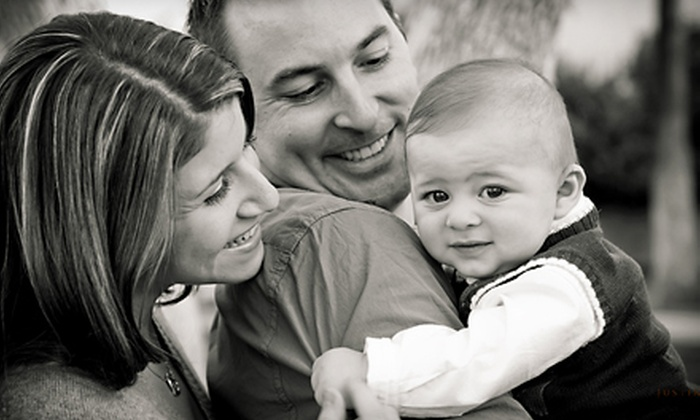 Justine Miller Photography - Mesa: $59 for a Holiday Photo Package from Justine Miller Photography in Mesa
