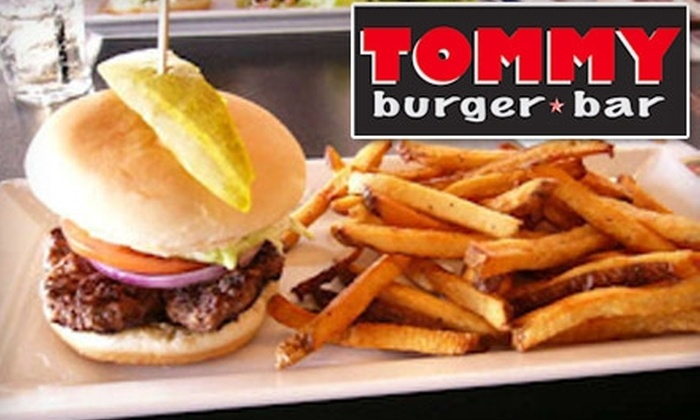Tommy Burger Bar - Haysboro: $12 for $25 Worth of Gourmet Burgers and More at Tommy Burger Bar