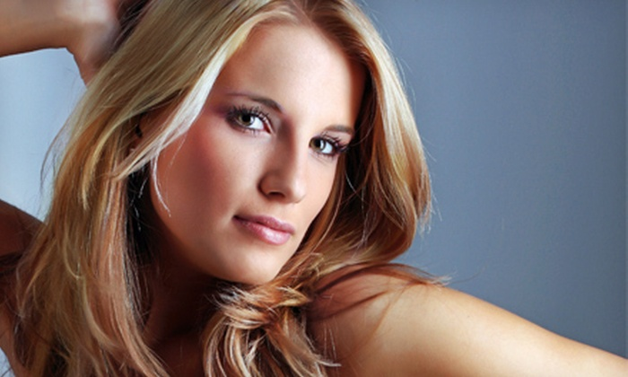 Kim's Studio - Tallahassee: Haircut Package with Optional Color, Partial Highlights, or Full Highlights at Kim's Studio (Up to 64% Off)