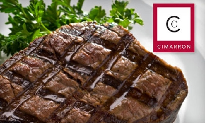Cimarron Steakhouse  - Clemmons: $15 for $30 Worth of Steak, Seafood, and Drinks at Cimarron Steakhouse  in Winston-Salem