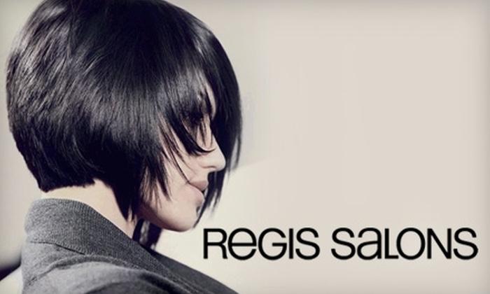 Regis Salon - Multiple Locations: $15 for $30 Toward Any Service at Regis Salons