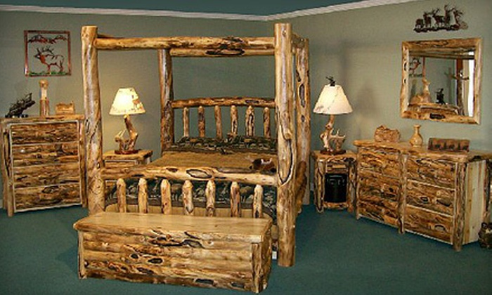 Rustic Log Furniture of Utah - Orem Station: Furniture, Home Décor, and Accessories at Rustic Log Furniture of Utah in Orem (Up to 51% Off). Two Options Available