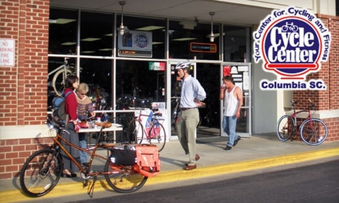Cycle Center - Multiple Locations: $40 for Bicycle Tune-Up and $15 Gift Card at Cycle Center (Up to $80 Value)