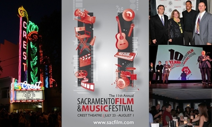 Sacramento Film & Music Festival - Downtown: $49 for an All-Screening Pass to the Sacramento Film & Music Festival ($120 Value)