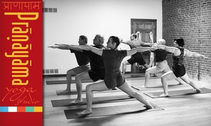Pranayama Yoga Studio - Downtown Rockford: $40 for Eight Sessions at Pranayama Yoga Studio ($85 Value)