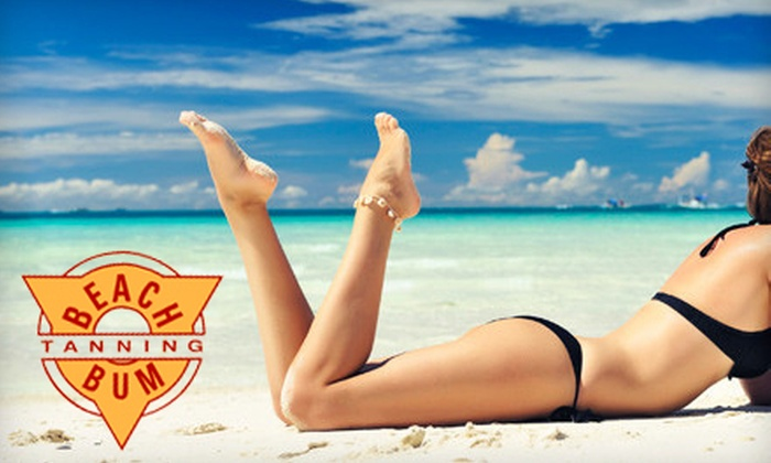 Beach Bum Tanning - Multiple Locations: $19 for Tanning Services at Beach Bum Tanning (Up to $59 Value). Seven Locations Available.
