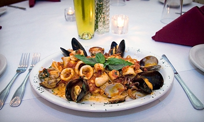 La Notte Cafe - Berwyn: $25 for $50 Worth of Italian Dinner Fare at La Notte Cafe in Berwyn