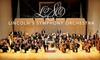 Lincoln Symphony Orchestra - Multiple Locations: $22 Main-Floor Ticket to Lincoln Symphony Orchestra ($45 Value). Choose from Six Symphony Events.