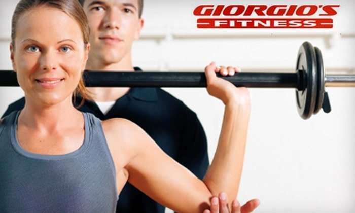 Giorgio's Fitness - Spokane Valley: $29 for One Month of Gym Access, One Fitness Class, One Personal-Training Consultation, and Unlimited Tanning at Giorgio's Fitness