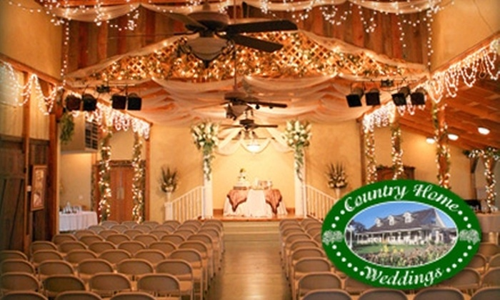 Country Home Weddings - Canyon: $1,750 for Room Rental, Plus Tables and Chairs, for Up to 300 People from Country Home Weddings ($3,500 Value)