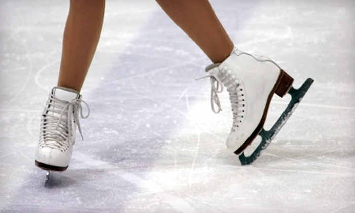 Aviator Sports and Events Center - Brooklyn: Public Ice-Skating Admission and Skate Rental at Aviator Sports and Events Center in Brooklyn. Two Options Available.