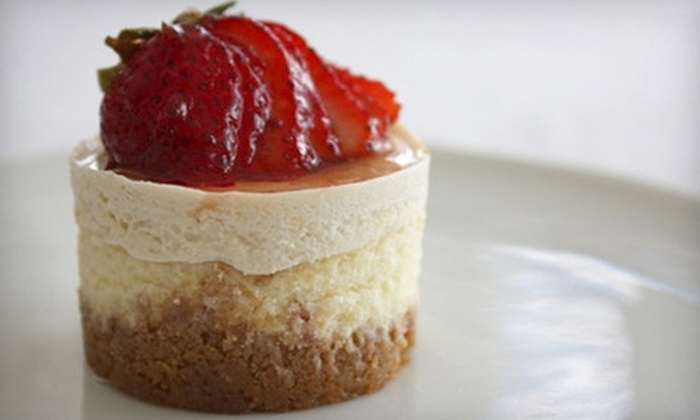 Le Petit Cheesecakes - Burbank: $21 for a 16-Treat Box of Mini Cheesecakes or Bonbons from Le Petit Cheesecakes (Up to $45 Value)