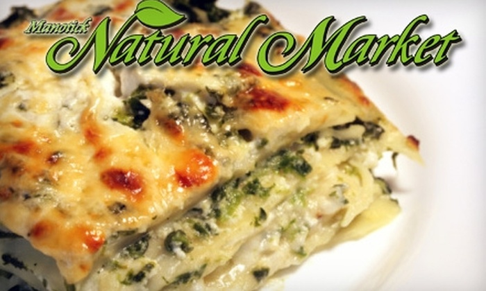 Manotick Natural Market - Manotick - North Gower: $68 for $150 Worth of Freshly Prepared Meals or $15 for $30 Worth of Fresh or Frozen Meats at Manotick Natural Market