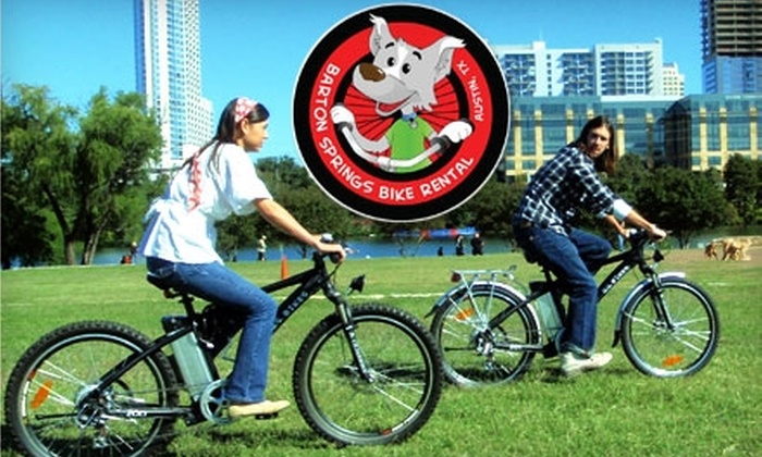 "Barton Springs Bike Rental - Zilker: $44 for a Two-Hour ""Austin in a Nutshell"" Electric Bike Tour Including All-Day Rental from Barton Springs Bike Rental ($88.50 Value)"