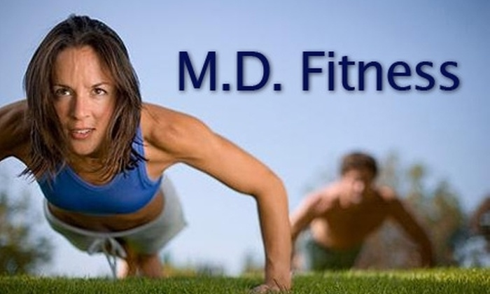 MAn-i-fOld Fitness - Blossoms Park: $19 for Eight One-Hour Custom Fit-Camp Sessions at MAn-i-fOld Fitness ($179 Value)