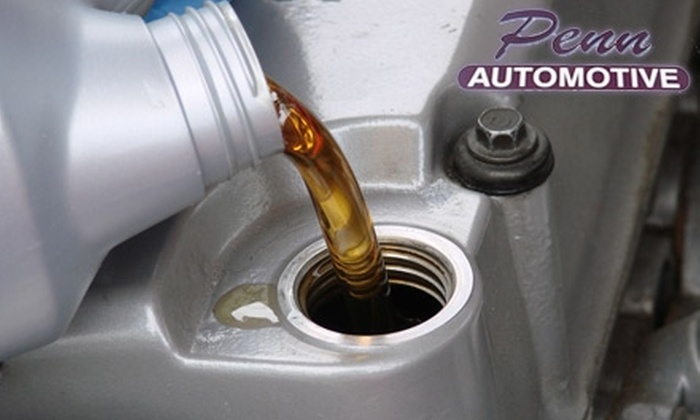 Penn Automotive - Erie: $12 for an Oil Change from Penn Automotive ($24.95 Value)