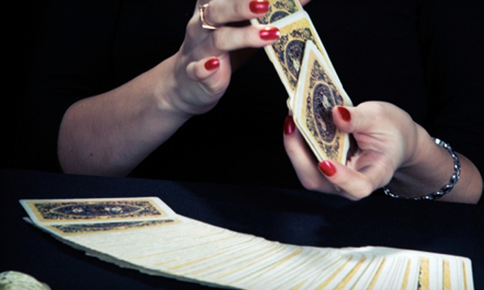 Tarot Readings by Griffa - Central Business District: Tarot-Card Reading, or Tarot-Card Class with Wine for One or Two at Tarot Readings by Griffa (Up to 56% Off)