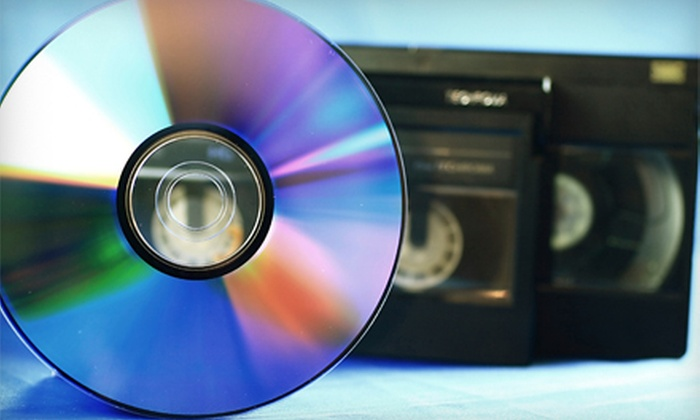 ScanDiego - San Diego: Three Videotape-to-DVD Transfers or 400 Photos Scanned to DVD at ScanDiego (Up to 67% Off)