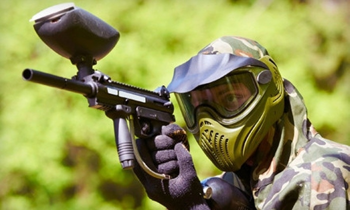 Maximum Paintball - Edison: $15 for Paintball Package with All-Day Field Pass and Equipment at Maximum Paintball ($30 Value)