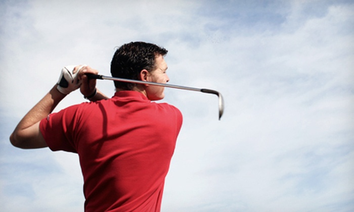 Golf Academy Sean Kicker  - Kendall: Five 60-Minute Golf Lessons, Nine-Hole Playing Lesson, or Both from Golf Academy Sean Kicker (Up to 87% Off)