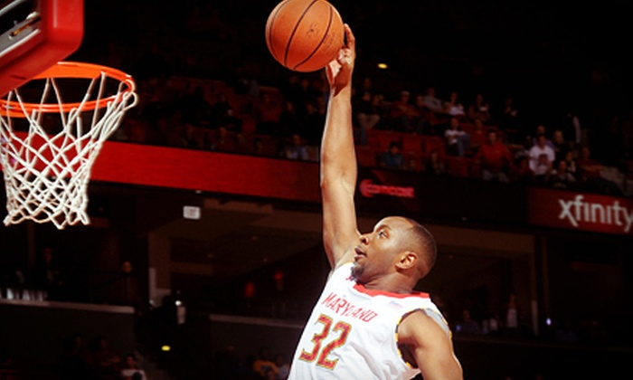 University of Maryland Men's Basketball - XFINITY Center: Maryland Men's Basketball Game and T-shirt at Comcast Center on December 21 or January 22 (Up to 51% Off)