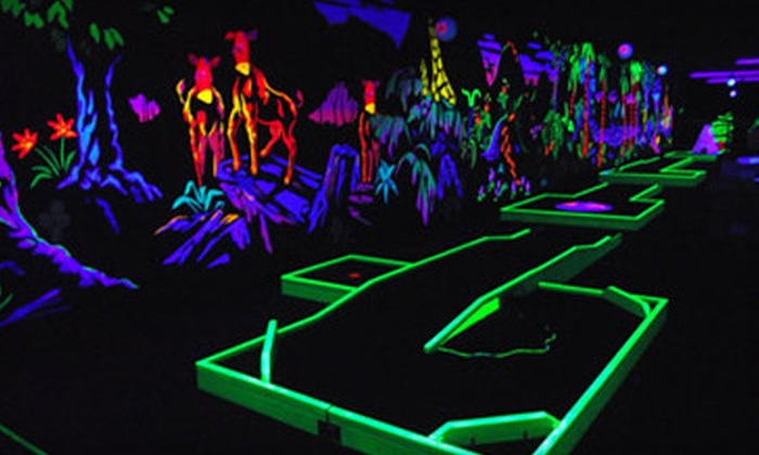 Beazley's - Dartmouth: Bowling or Glow-in-the-Dark Mini Golf With Slushies for Two or Four at Beazley's (Up to 55% Off)
