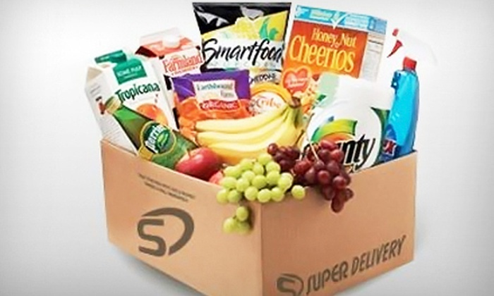 Super Delivery: $30 for Three $20 Grocery-Delivery Gift Cards from Super Delivery ($60 Value)