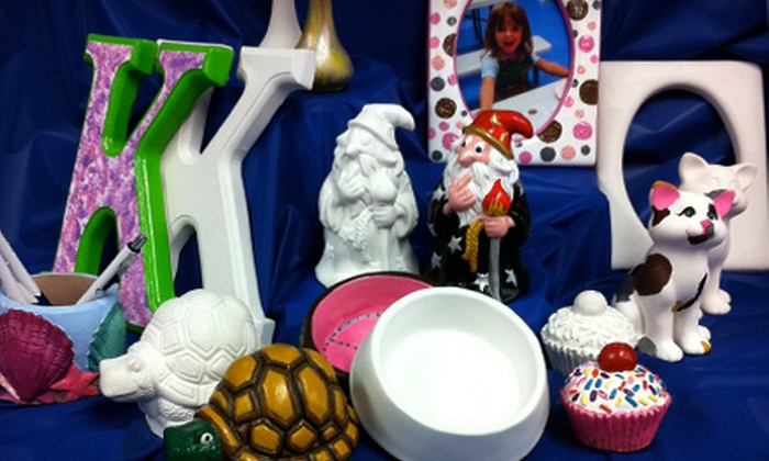 Painting Fun Spot - Fort Wayne: $10 for $20 Worth of Paint-it-Yourself Plaster Pottery, Figurines, and Knickknacks at Painting Fun Spot