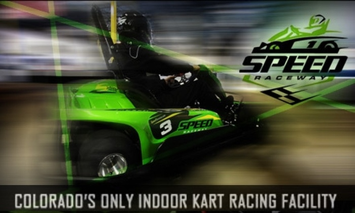 Speed Raceway - Parker: $30 for a One-Year License and Three Races at Speed Raceway ($65.95 Value)