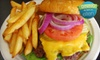Paul'z Burgerz & Dogz - Saint Louis: $8 for a Plain Jane Burger Meal with Fries and Sodas for Two at Paul'z Burgerz & Dogz (Up to $16.50 Value)