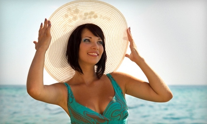 A Moment's Peace - Franklin: $45 for Three VersaSpa Sunless-Tanning Sessions at A Moment's Peace in Franklin ($90 Value)